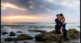Laura + Romey Engagement – Washington Oaks State Park