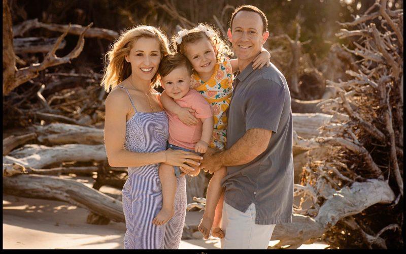 Hilary + Jared Family Session – Big Talbot Island Florida