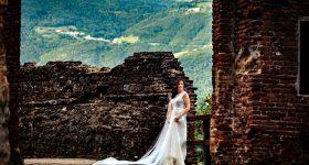 Laura's Bridal Session – Castello di Marostica – Bassano Italy